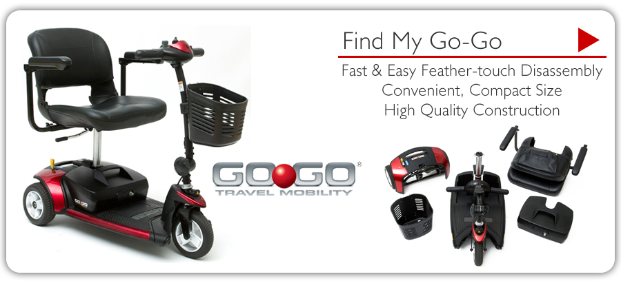 gogo scooter 3 wheel Houston CA. handicap mobility three wheeled senior elderly chair