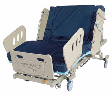 burkebariatric triflex II  bariatric bed Houston tx affordable cost sale price electric hospital bariatric bed are motorized base foundation frame  heavy duty large extra wide electric power adjustable medical mattress 3-motor high low fully electric reverse trendellenburg