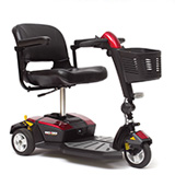 gogo lx suspension pridemobility.com electric 3-wheel go-go scooters Houston tx affordable cost sale price electric hospital bariatric bed are motorized base foundation frame
